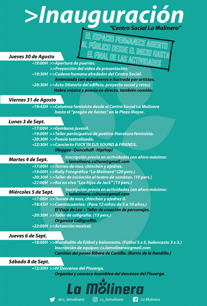 cartel-apertura-la-molinera-centro-social-valladolid