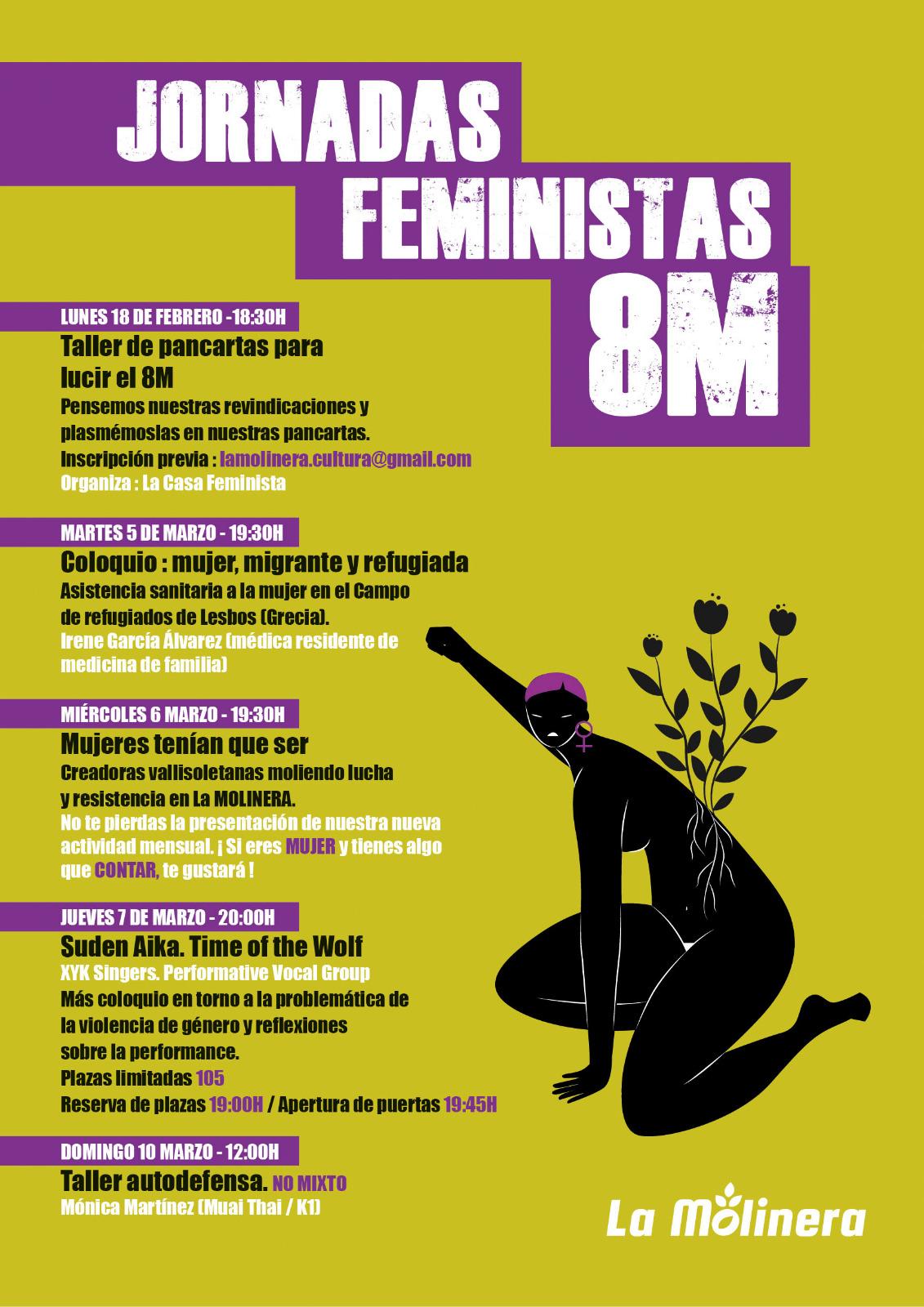 JORNADAS FEMINISTAS 8M